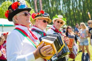 Reading Beer and Cider Festival Morris dancers