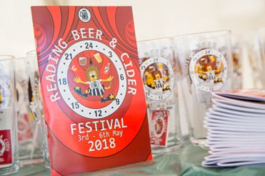 Reading Beer and Cider Festival 2018 brochure sponsorship