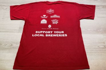 Reading Beer and Cider Festival t shirt sponsorship real example